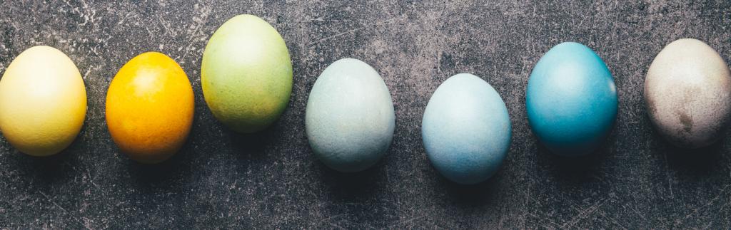 Боядисване на яйца с натурални бои